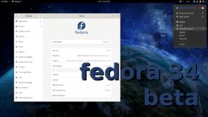 Fedora 34 Beta