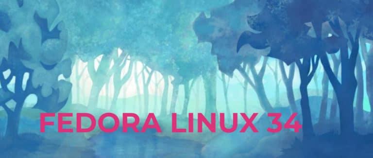 Fedora 34