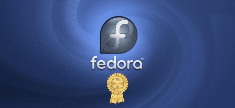 Fedora premiado como bien público