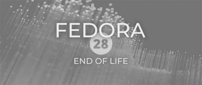 Final del ciclo de vida de Fedora 28