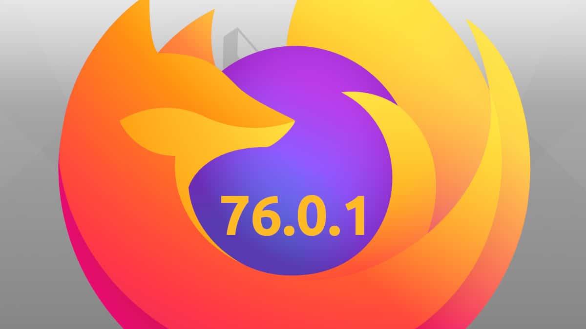 Firefox 76.0.1