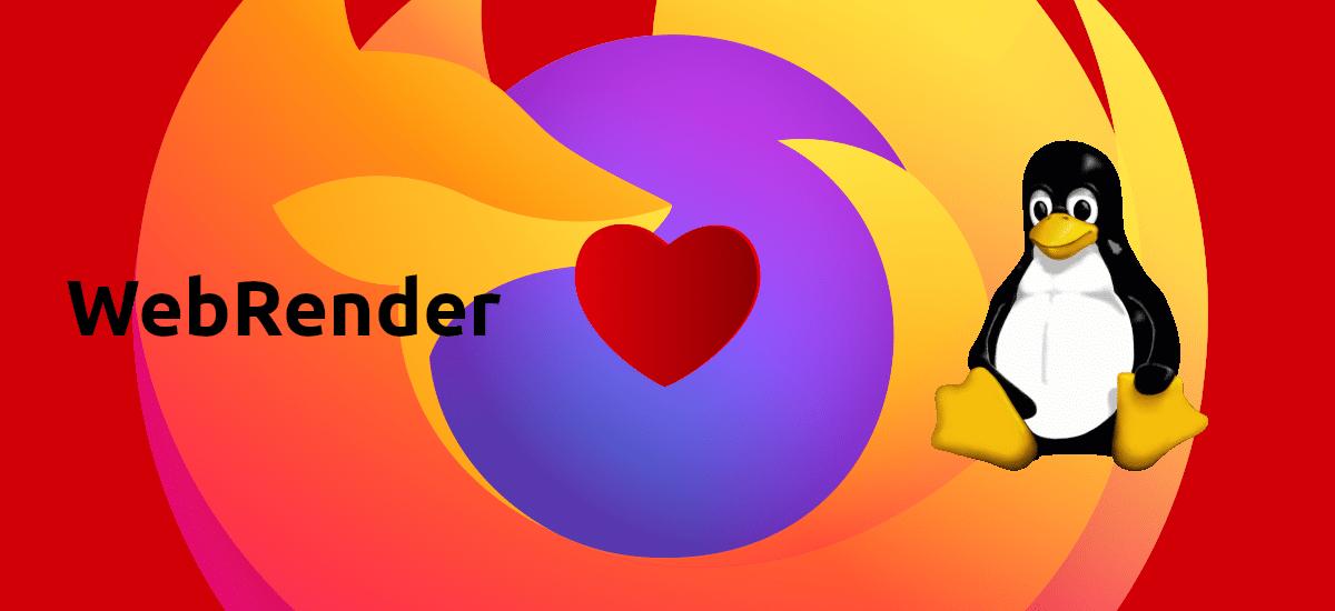 Firefox 84, WebRender y Linux