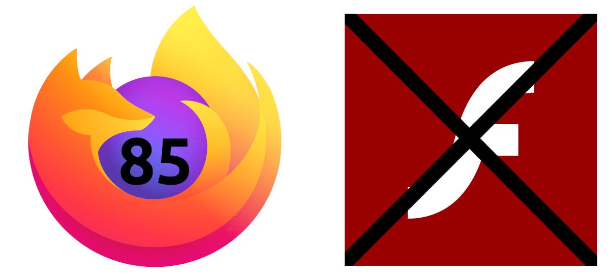 Firefox 84 será la última versión en soportar Flash Player