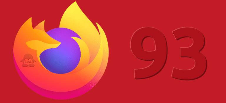 Firefox 93