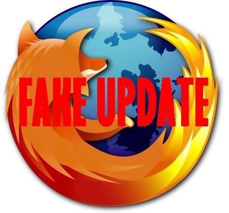 Actualizacion falsa de Firefox