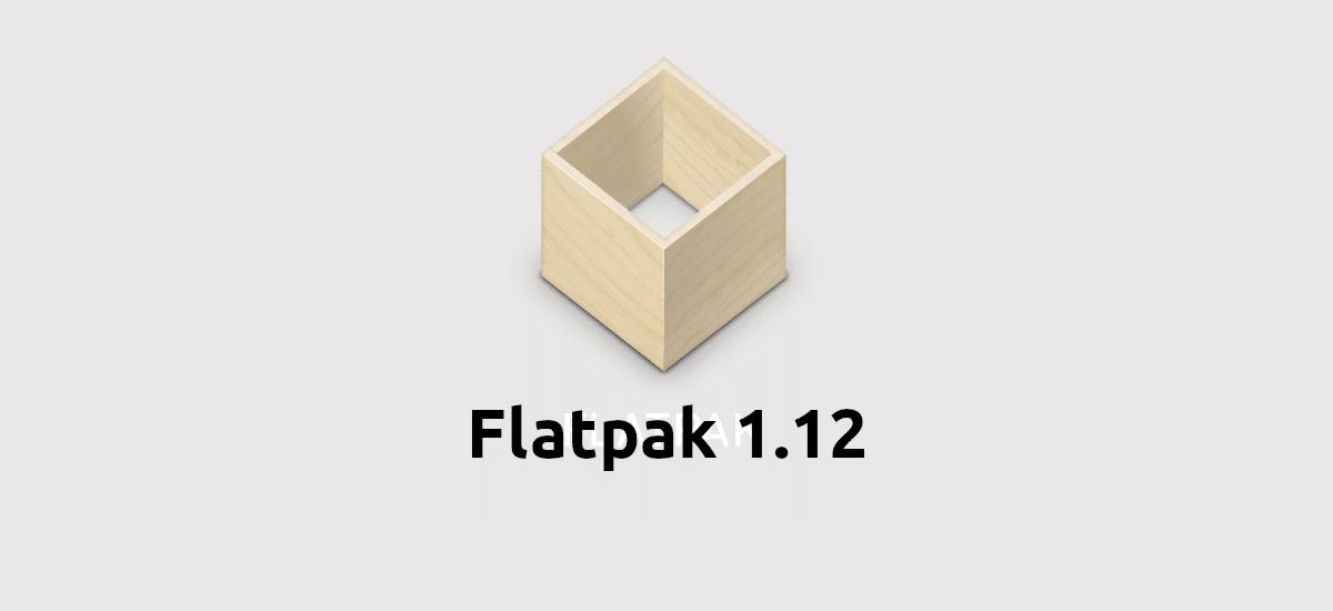 Flatpak 1.12