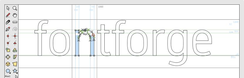 FontForge un editor de fuentes tipográficas multiplataforma