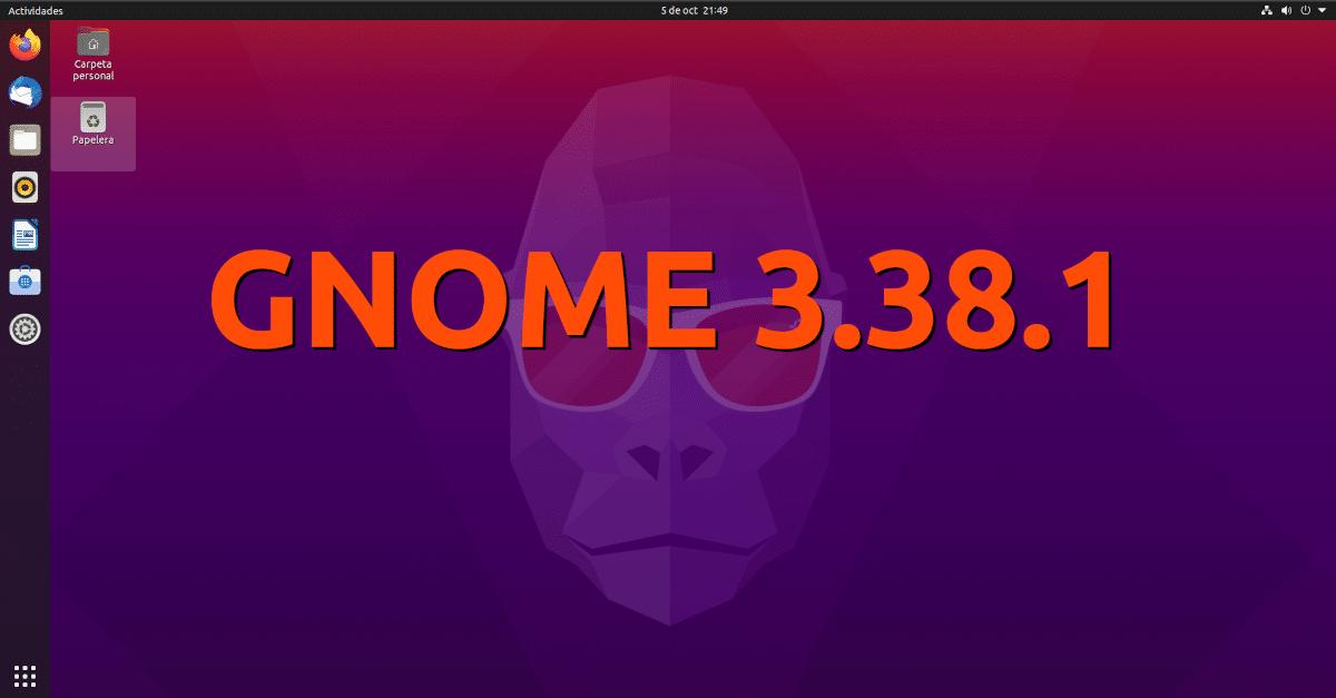 GNOME 3.38.1