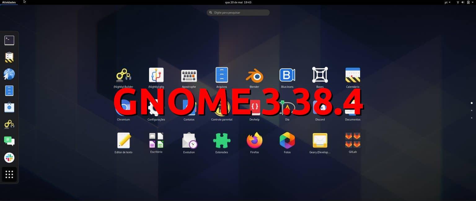 GNOME 3.38.4