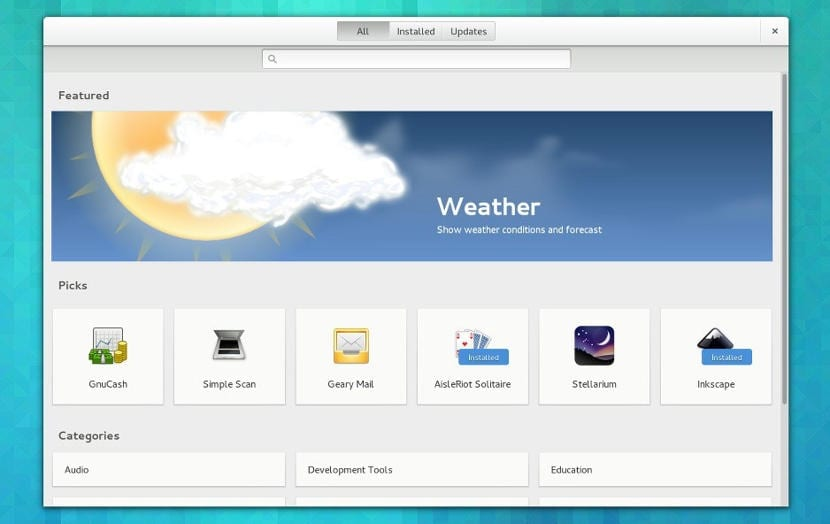 GNOME Software 3.32