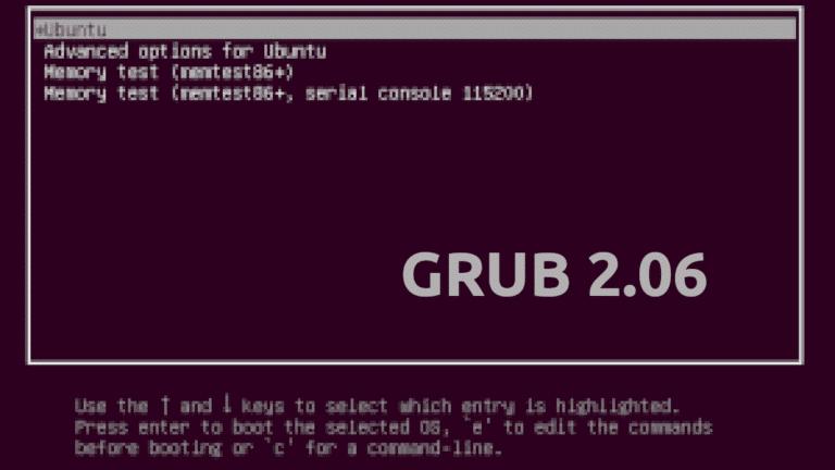 GRUB 2.06