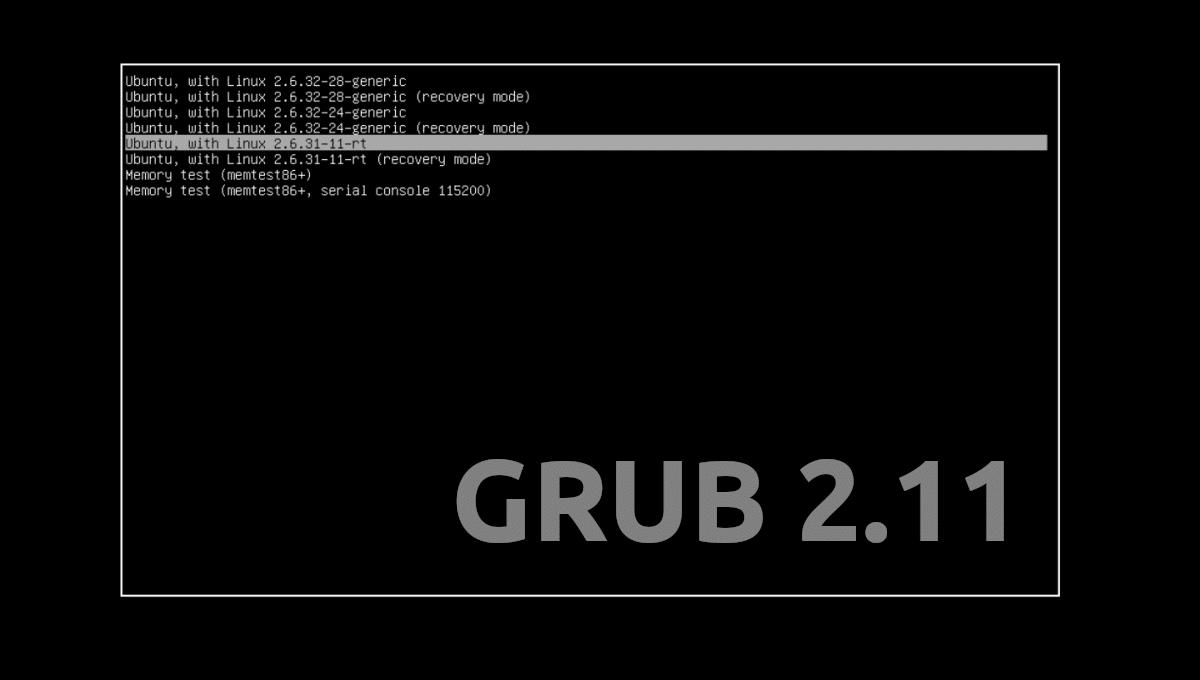 GRUB 2.11