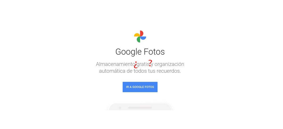 Google Fotos ya no es gratis