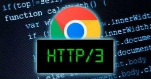 HTTP3 Chrome