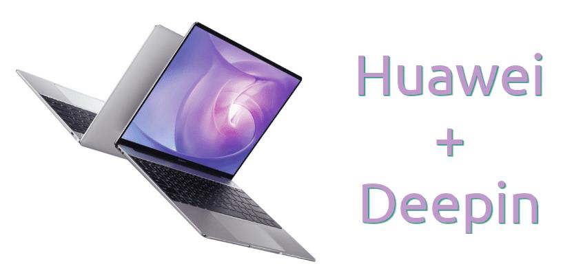 Huawei con Deepin