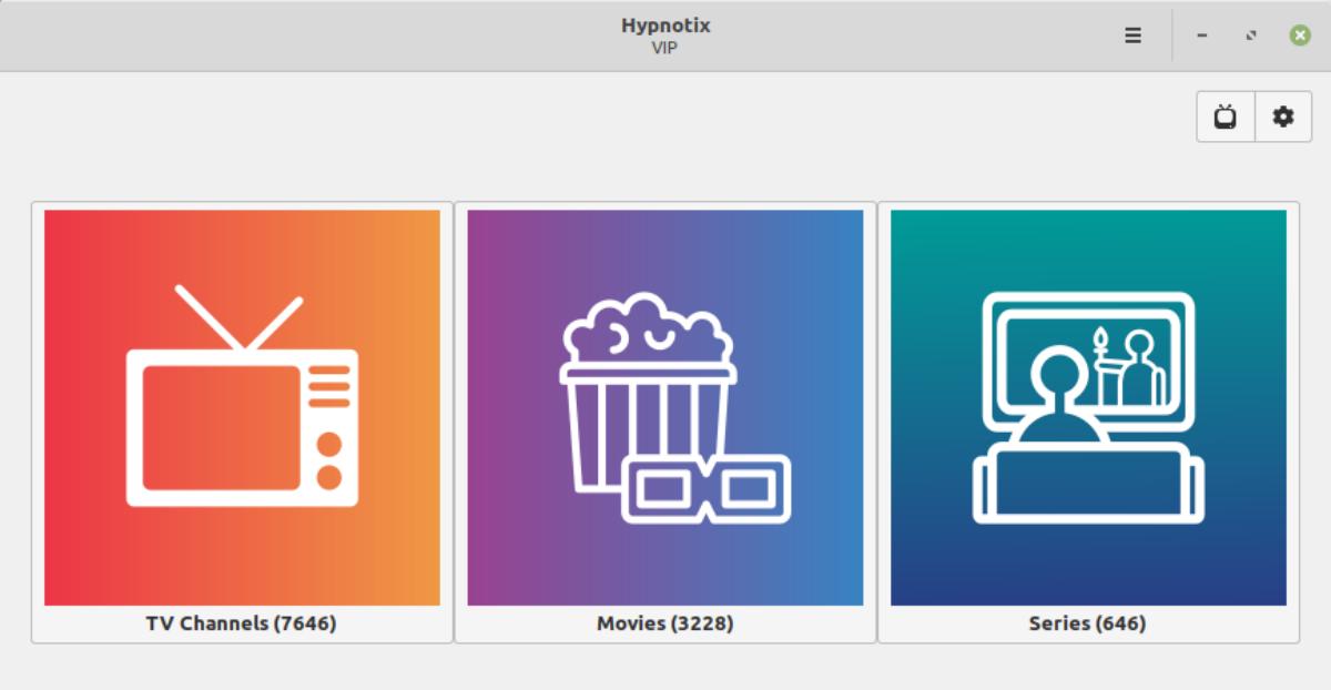 Hypnotix en Linux Mint