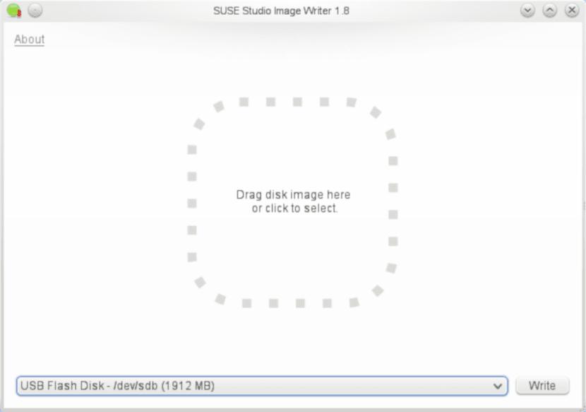 SUSE Studio ImageWriter