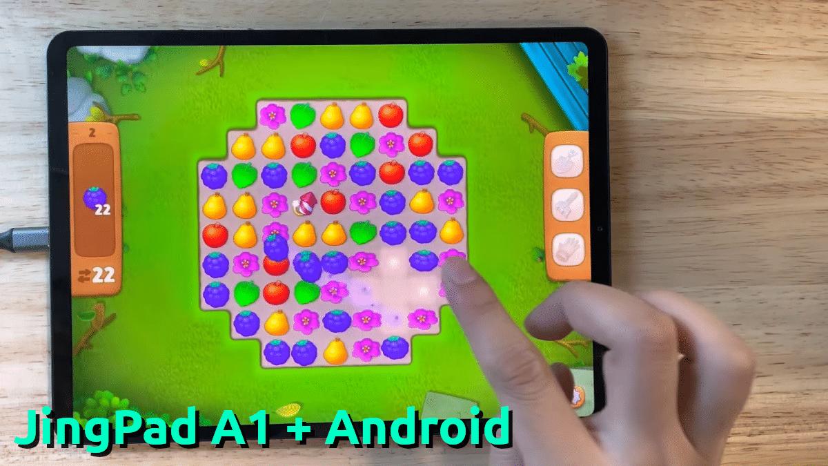 JingPad A1 + Android