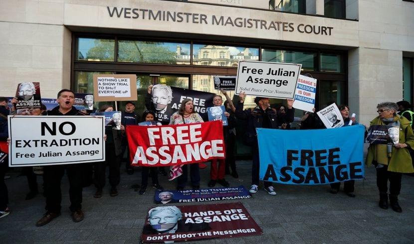 Julian Assange encontrá de ser extraditado