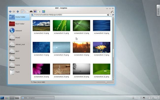Nuevo escritorio KDE 4.8