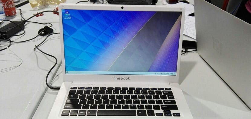 KDE Neon Pinebook remix