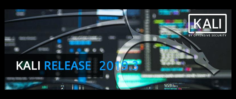 Kali Linux 2019.3