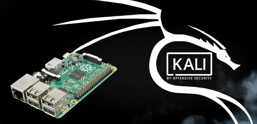 Kali linux y Raspberry Pi 4