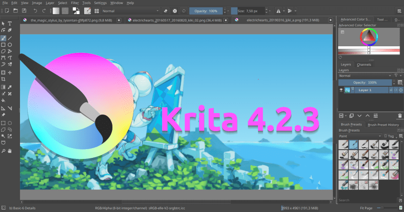 Krita 4.2.3