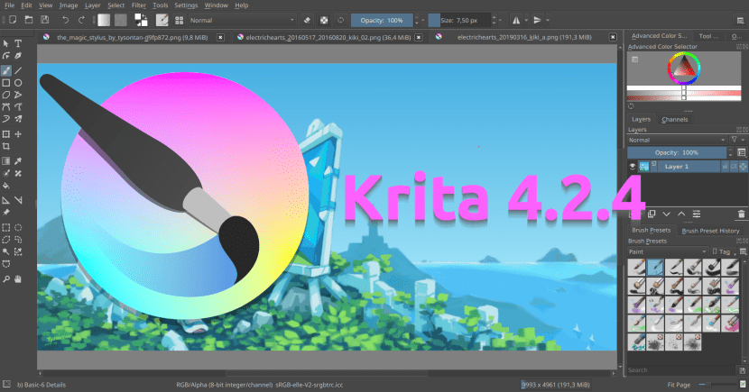 Krita 4.2.4