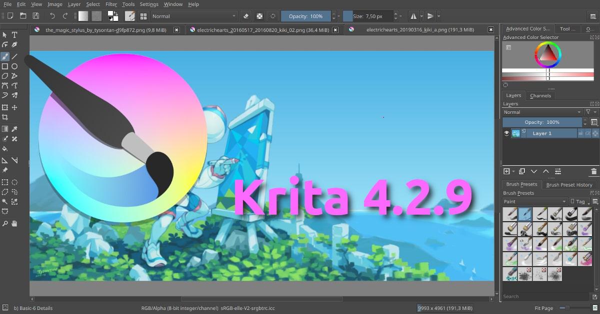 Krita 4.2.9