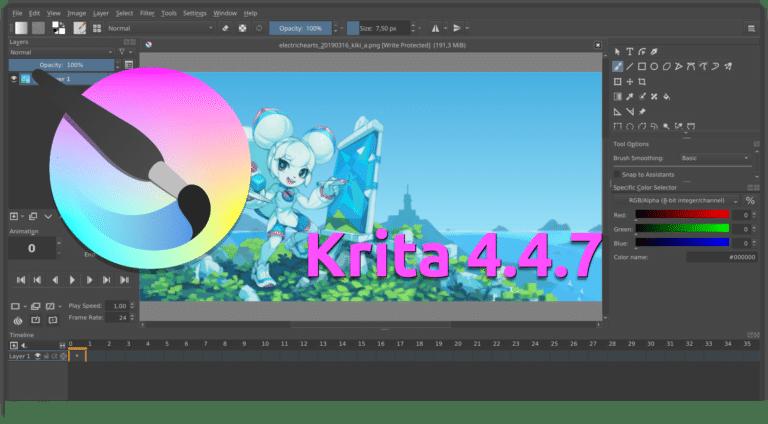 Krita 4.4.7