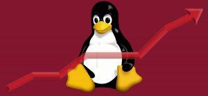 La cuota de mercado de Linux sube