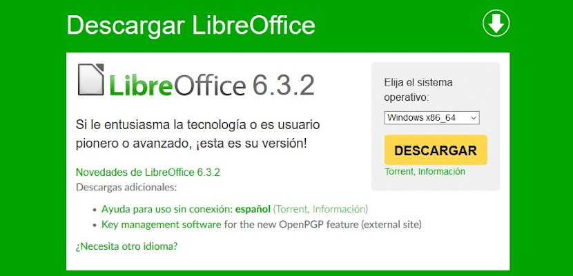 LibreOffice 6.3.2