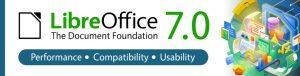 LibreOffice 7.0 banner