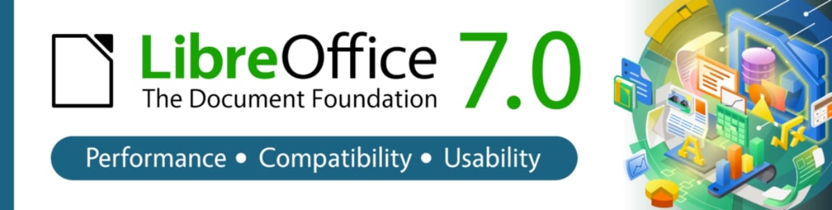 LibreOffice 7.0 banner