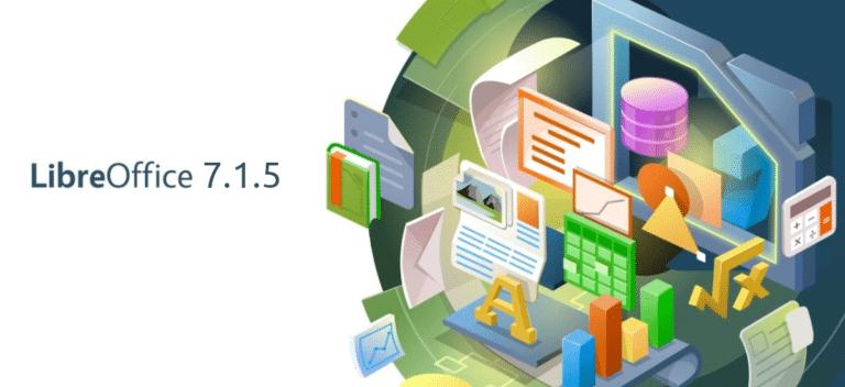 LibreOffice 7.1.5