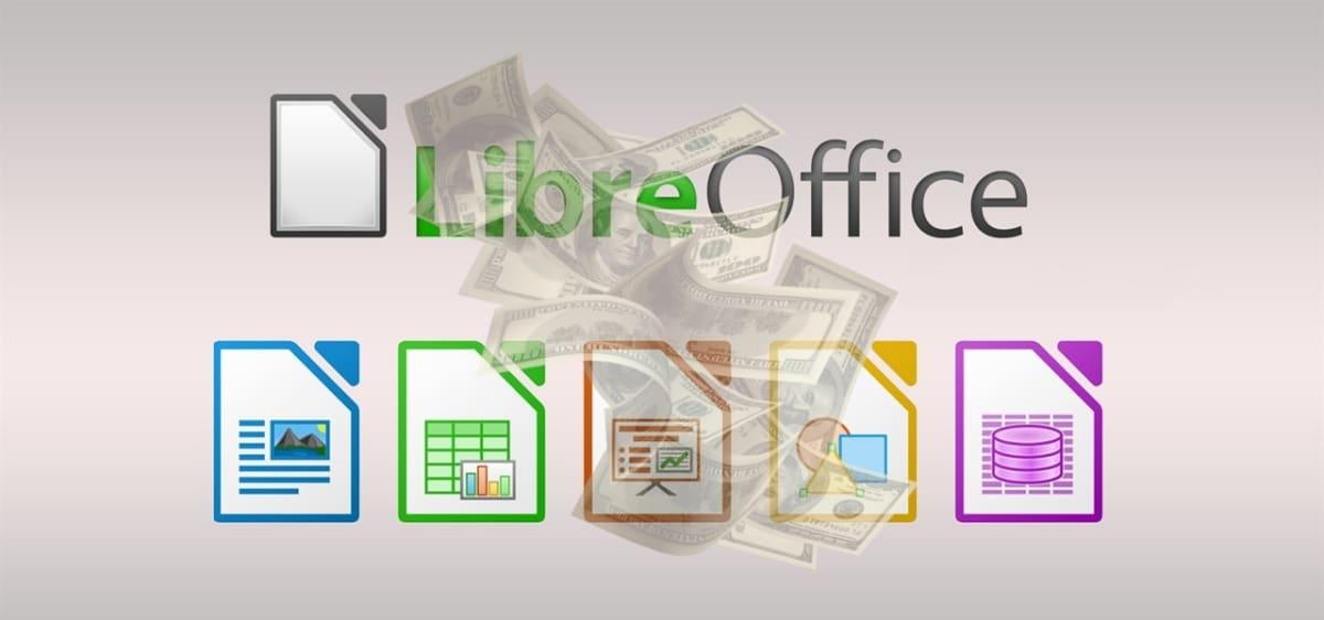 LibreOffice y dinero