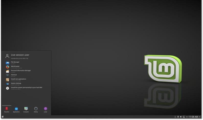 Linux Mint 18 KDE Edition
