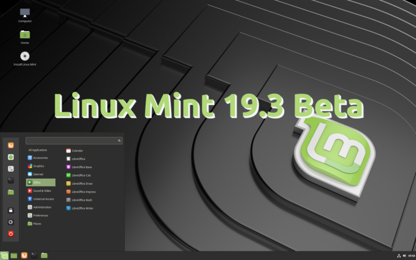 Linux Mint 19.3 Beta