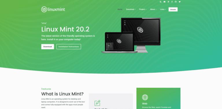 Linux Mint 20.3 se podrá descargar desde la nueva web