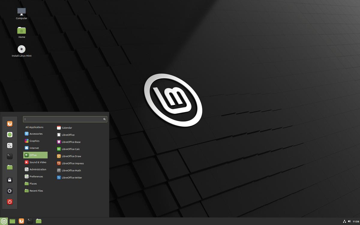 Linux Mint, Windows