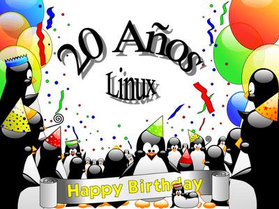 Linux cumple 20 años