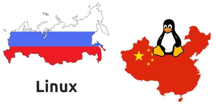Linux en Rusia y China