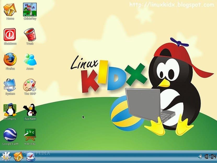 LinuxKidx escritorio