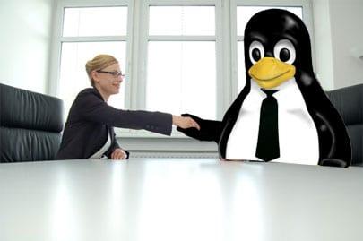 Linux cada vez está más presente en el mundo empresarial