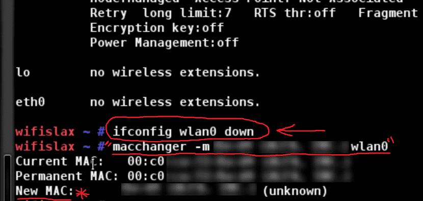 Macchanger en Linux