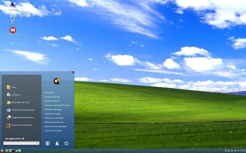 MakuluLinux-Aero-Is-Linux-Distro