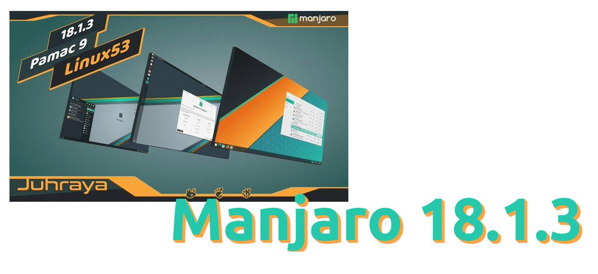 Manjaro 18.1.3