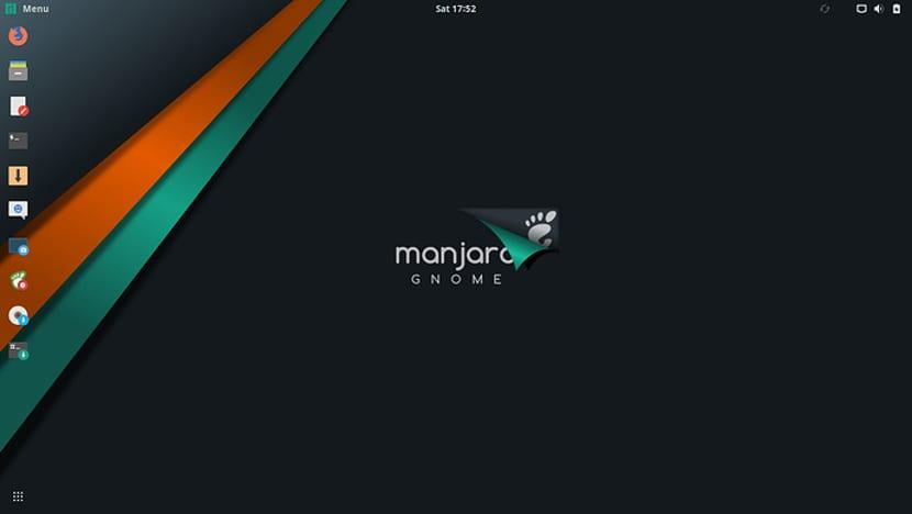 Manjaro 17.1.7 Gnome Edition