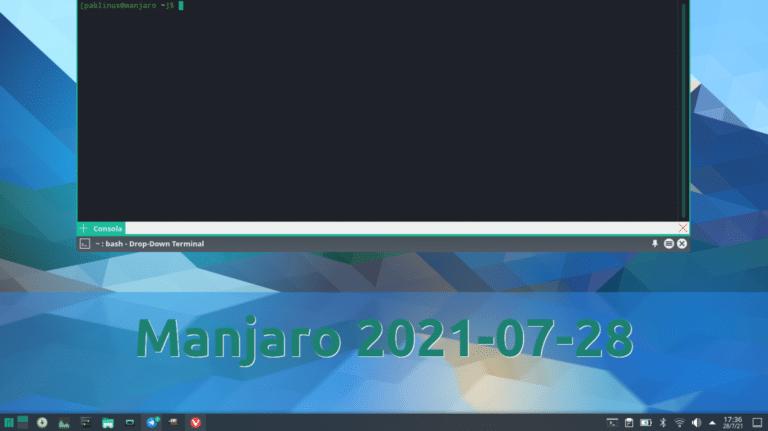 Manjaro 2021-07-28